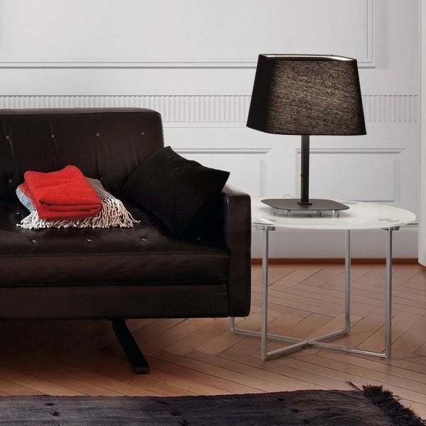 Lampe design noire lampe de chevet for Lampe de chevet noire