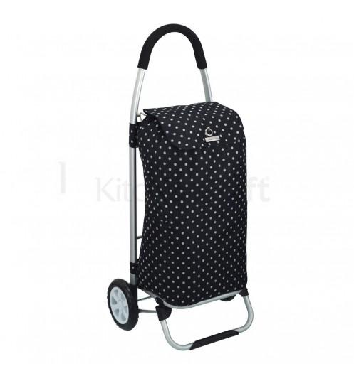 Chariot courses pliable avec sac isotherme poussette de marche kitchen craft - Poussette de marche 6 roues ...