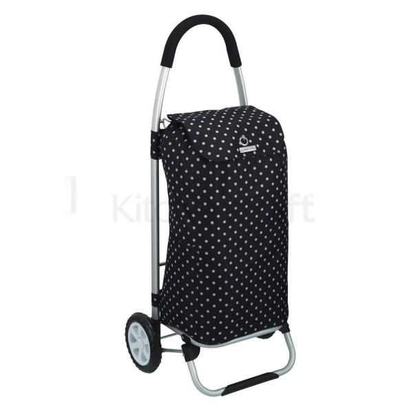 chariot courses pliable avec sac isotherme poussette de. Black Bedroom Furniture Sets. Home Design Ideas