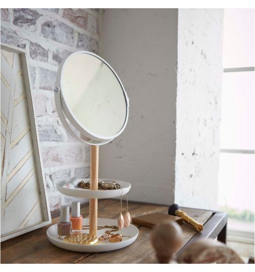 rangement bijoux miroir top bote bijoux miroir extensible avec with rangement bijoux miroir. Black Bedroom Furniture Sets. Home Design Ideas