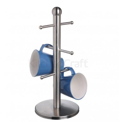 Porte tasse inox 6 branches accessoire de rangement for Porte inox cuisine