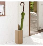 Porte parapluie en bois carré Yamazaki