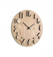 Horloge murale en bois Umbra