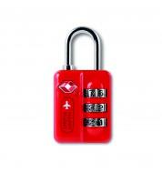 Cadenas TSA rouge Alife Design