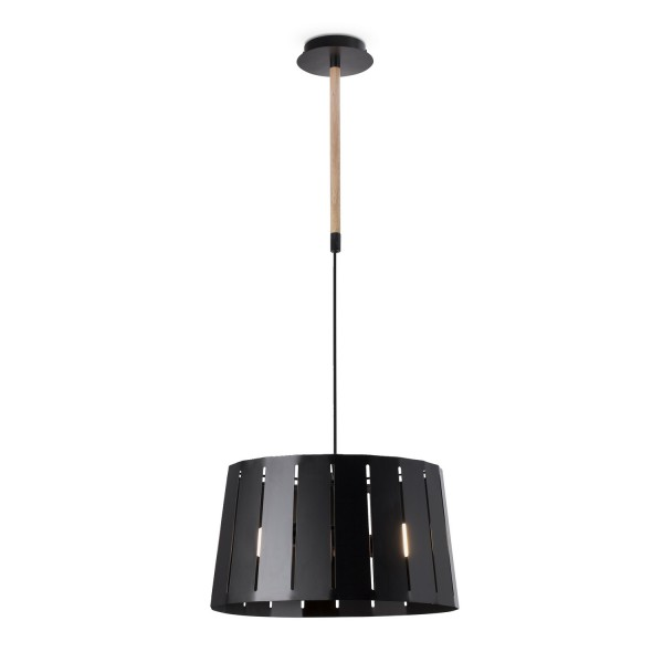 suspension luminaire design noire luminaire faro. Black Bedroom Furniture Sets. Home Design Ideas