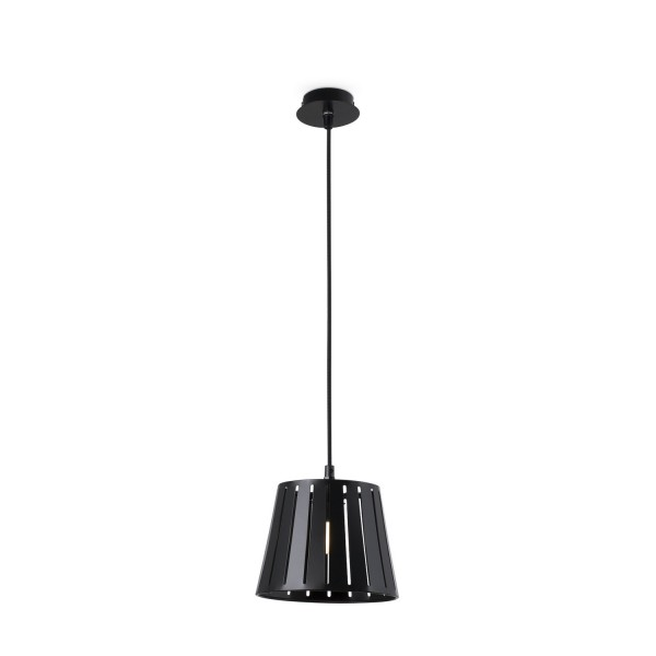 suspension noire design suspension luminaire faro. Black Bedroom Furniture Sets. Home Design Ideas