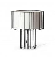 Lampe de chevet noire design Linda Faro