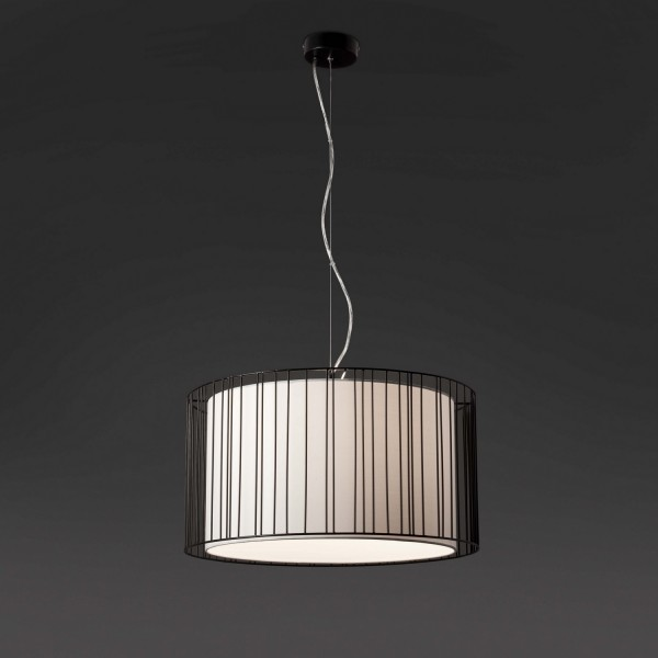 suspension luminaire blanc design original lampes modernes faro. Black Bedroom Furniture Sets. Home Design Ideas