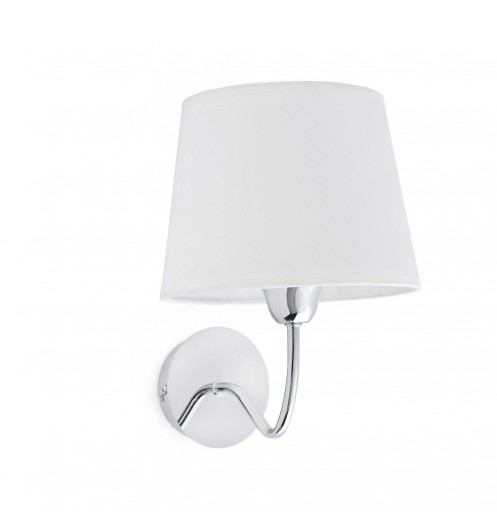 applique mural blanche design lampes faro. Black Bedroom Furniture Sets. Home Design Ideas
