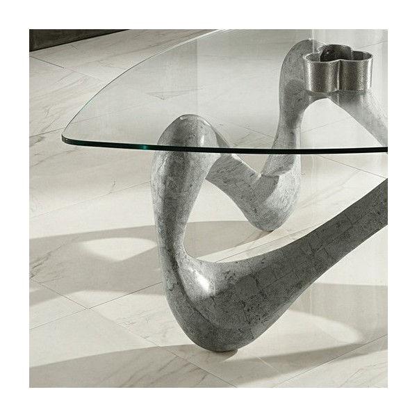 Table salon grise design tables basses originales for Les plus belles tables basses