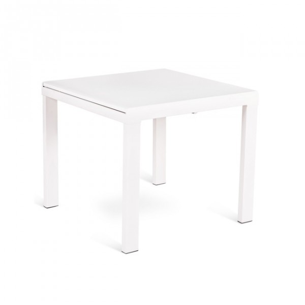 Table salle a manger extensible blanche tables design for Table a manger blanche design