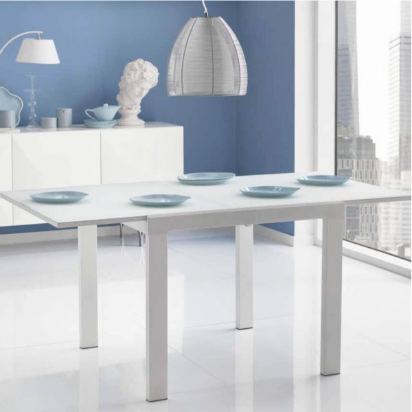 Table a rallonge salle a manger marron tables design for Table salle a manger carree blanche