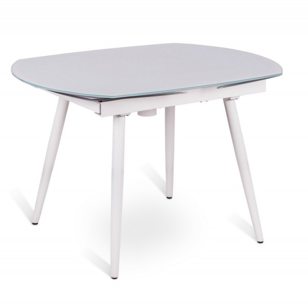 Tablea manger extensible salle manger for Table ovale verre extensible