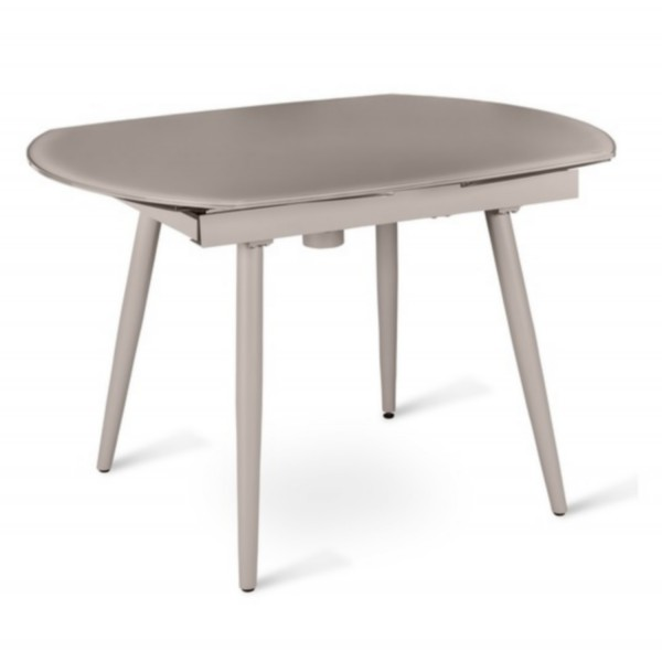 Console extensible design table manger for Table ovale verre extensible