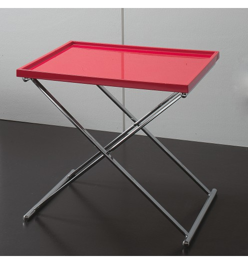 Petite table basse carr e table basse design refermable - Petite table basse rouge ...