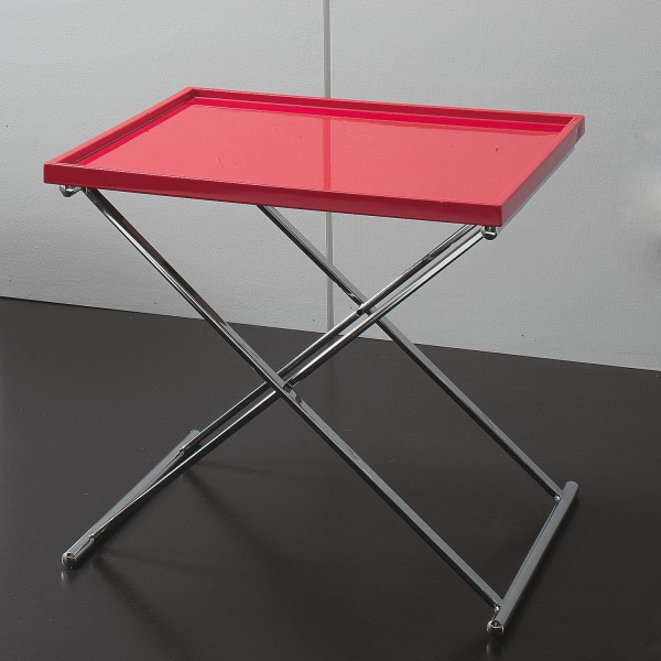 Petite table basse carr e table basse design refermable for Table basse rouge