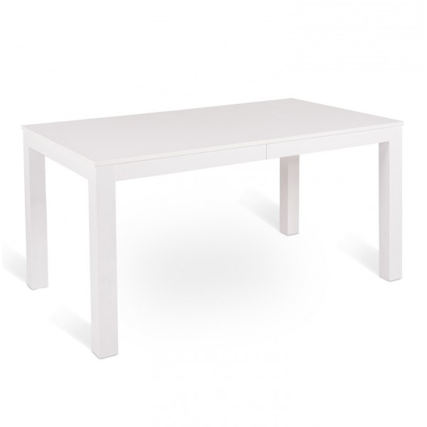 console extensble blanche table manger. Black Bedroom Furniture Sets. Home Design Ideas