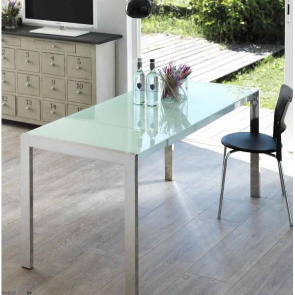Console extensible noir tables extensibles - Console extensible verre ...