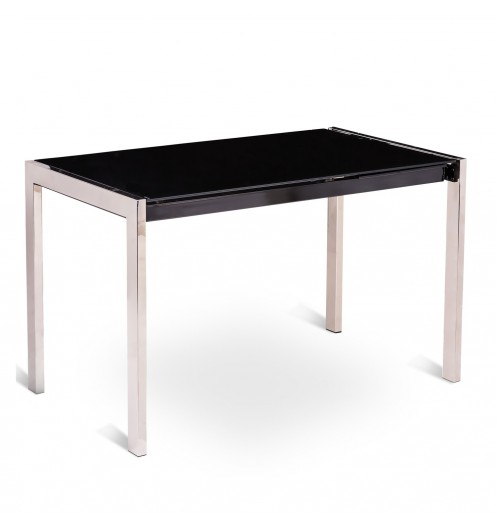 console extensible noir tables extensibles. Black Bedroom Furniture Sets. Home Design Ideas
