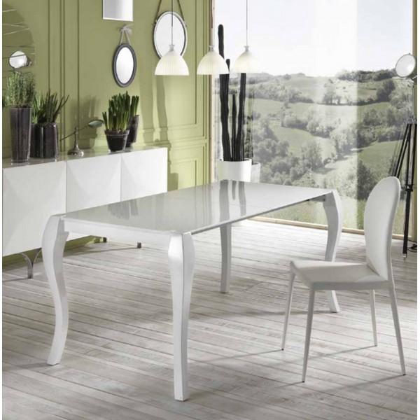 Table à manger extensible design avec rallonge 170 230cm