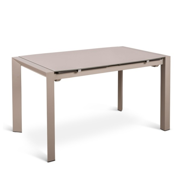 Table manger extensible maison design for Table salle a manger extensible blanche