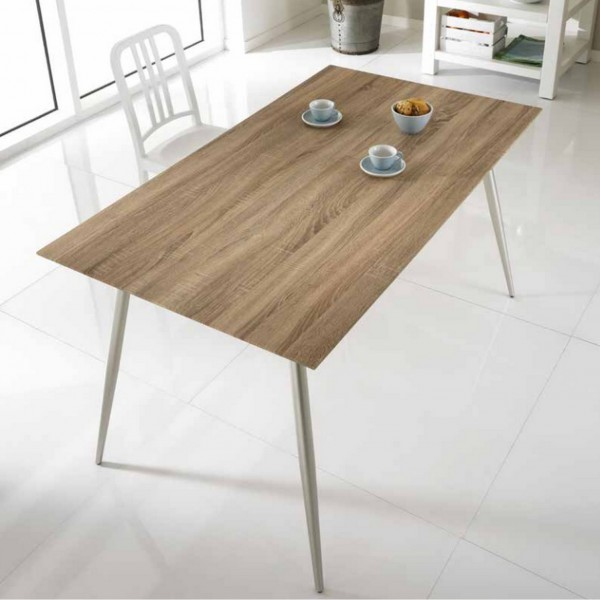 Table manger en bois console table design - Table a manger en bois ...