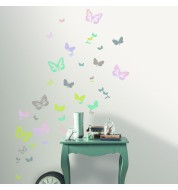 Stickers hologramme Butterfly Casélio