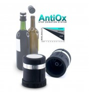 Bouchon vin antioxydant noir Pulltex