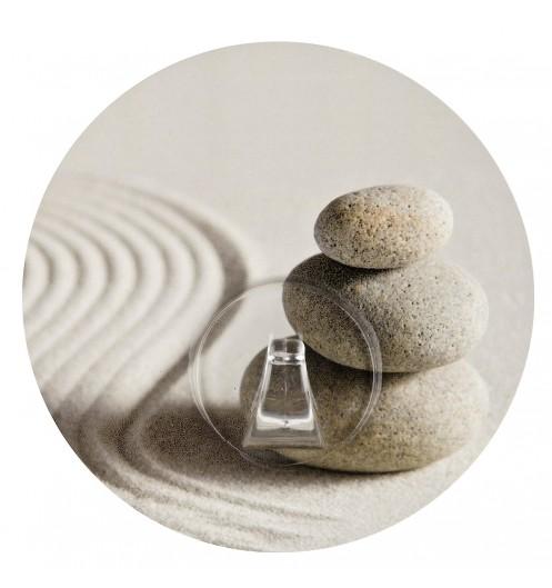 porte serviettes mural - accroche serviette zen