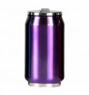 Mug isotherme canette violet