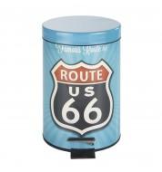 Poubelle à pédale 3L Route 66