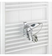 Porte sèche-cheveux pour radiateur circulaire Wenko