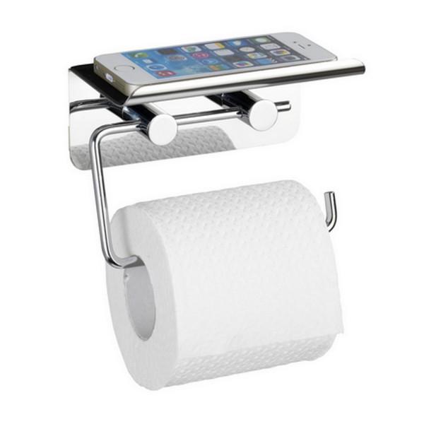 distributeur papier toilette support t l phone. Black Bedroom Furniture Sets. Home Design Ideas