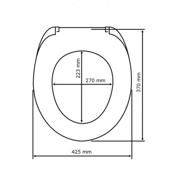 abattant wc color lunettes wc. Black Bedroom Furniture Sets. Home Design Ideas