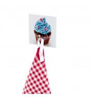 Accroche torchon souple Cupcake Wenko