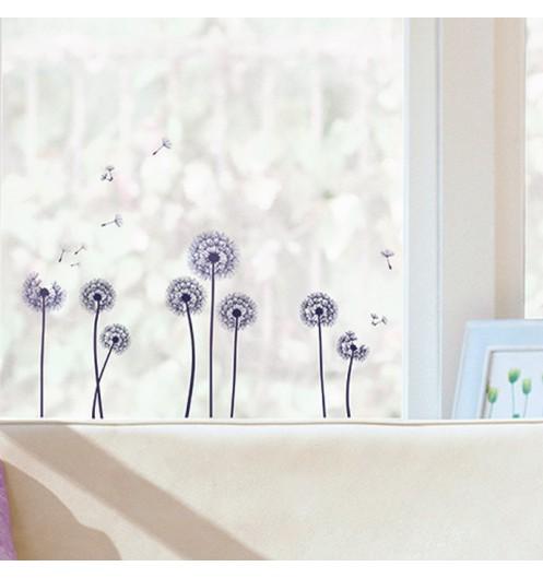 stickers fenetre noir sticker vitre nature. Black Bedroom Furniture Sets. Home Design Ideas