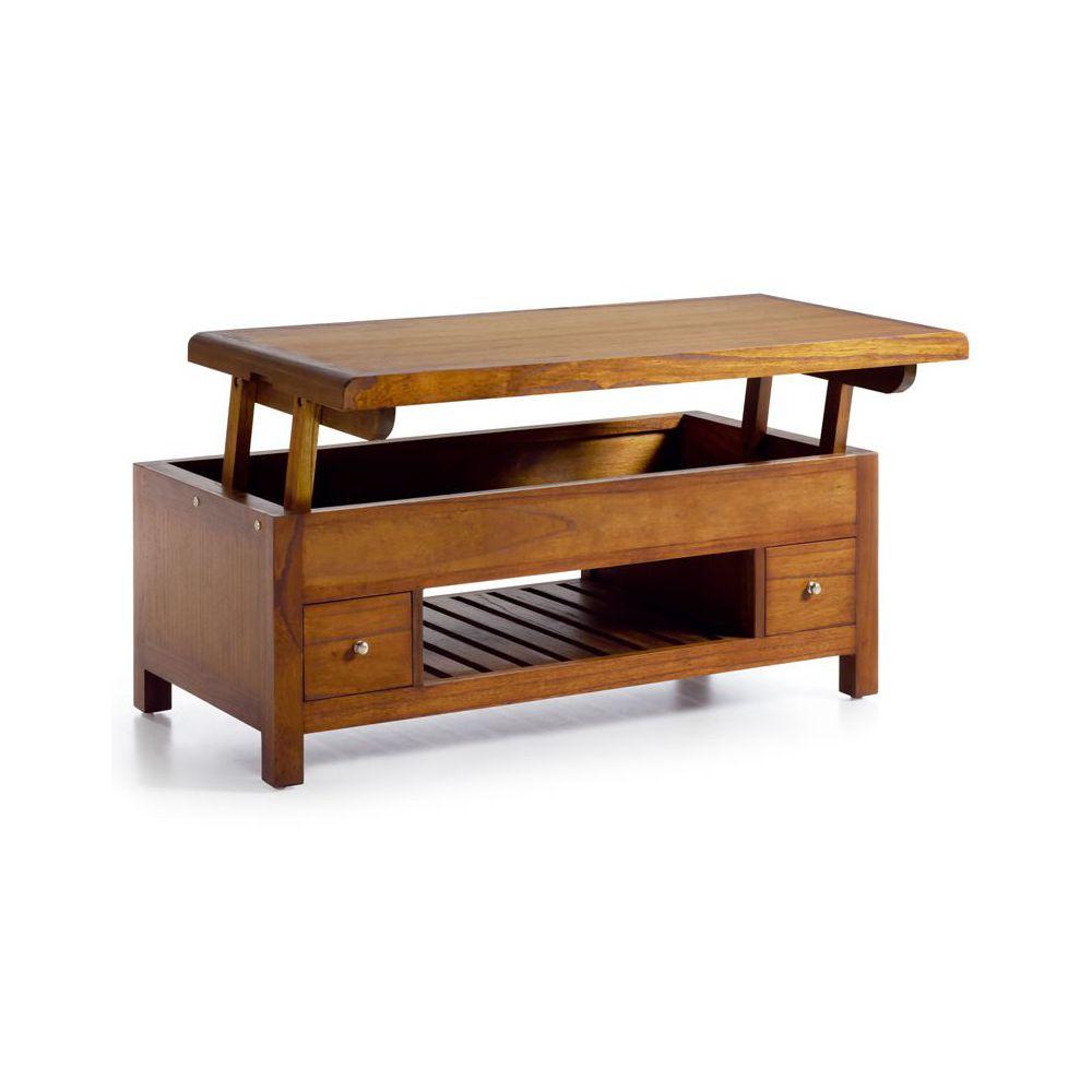table basse en bois avec tiroir stunning meuble table. Black Bedroom Furniture Sets. Home Design Ideas