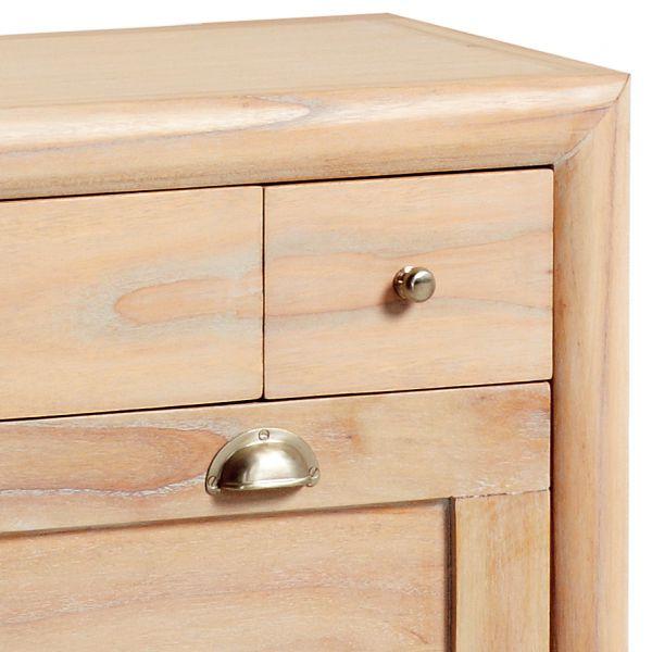 meuble chaussures en bois massif 2 portes deco et saveurs. Black Bedroom Furniture Sets. Home Design Ideas