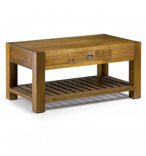 table basse en bois mobilier salon moderne. Black Bedroom Furniture Sets. Home Design Ideas