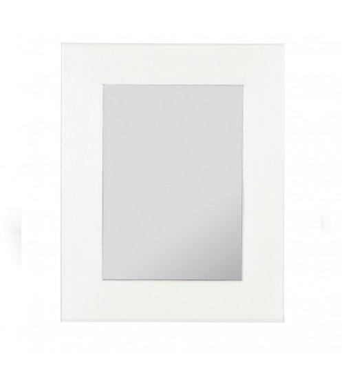 miroir salle de bain blanc miroir en bois. Black Bedroom Furniture Sets. Home Design Ideas