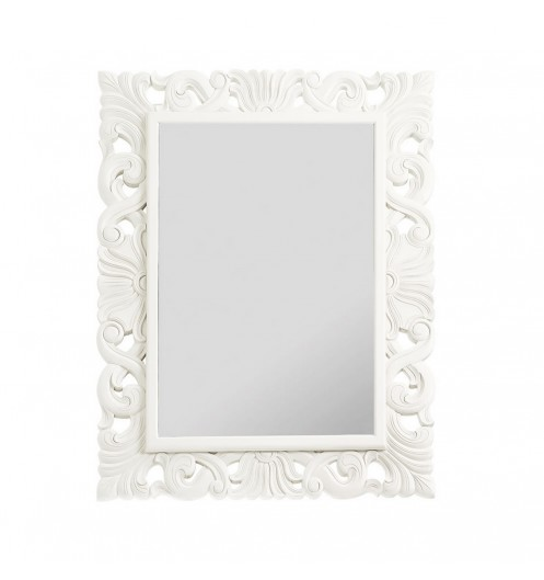 Miroir blanc for Miroir blanc laque