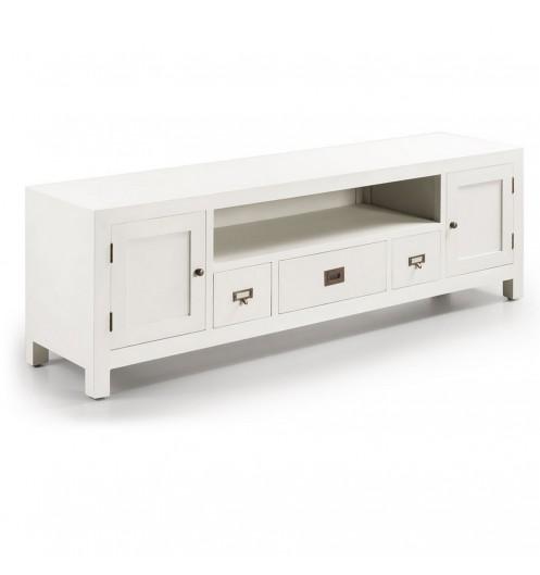 Meuble Tv Blanc Meuble Television Design