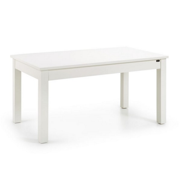 Table manger extensible blanche table repas for Table 160 extensible