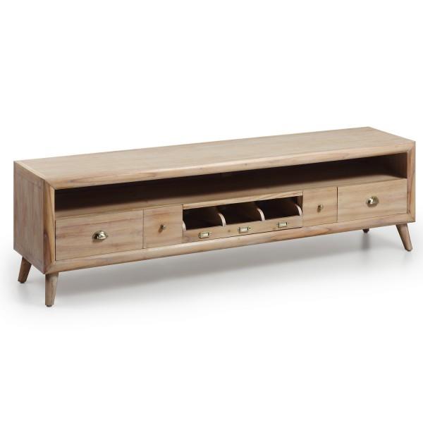 meuble salon tv support t l vision scandinave. Black Bedroom Furniture Sets. Home Design Ideas