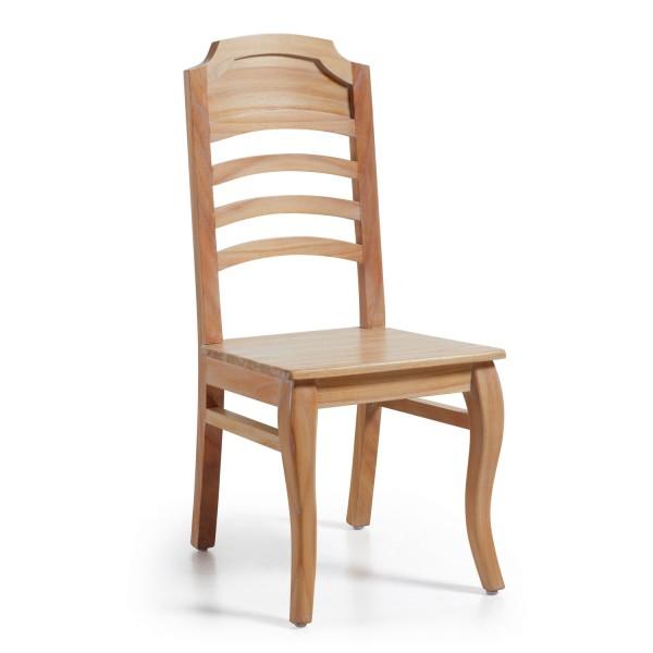 Chaise bureau chaise en bois moderne for Chaise barreaux
