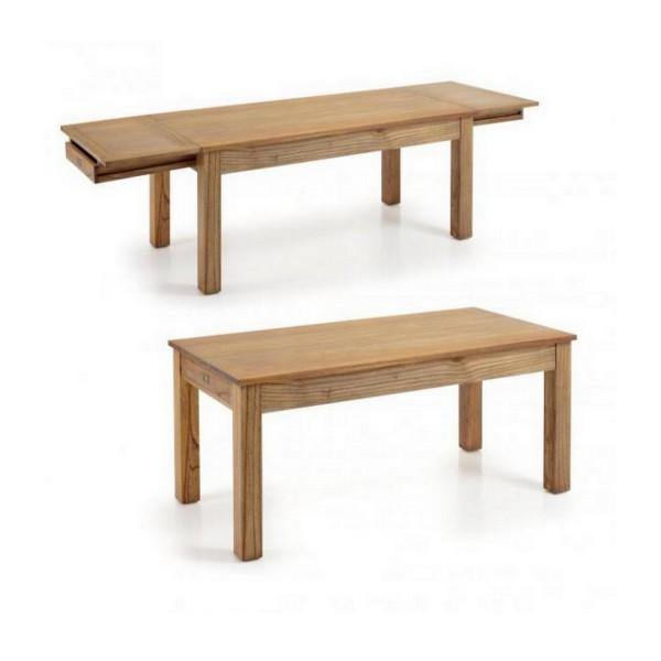 Table a manger extensible table en bois indon sien for Table extensible 280 cm