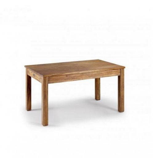 Table salle a manger en bois table a manger avec rangements for Table salle manger bois brut