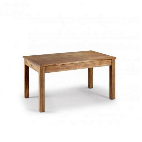 Table salle a manger en bois table a manger avec rangements for Table salle a manger en bois
