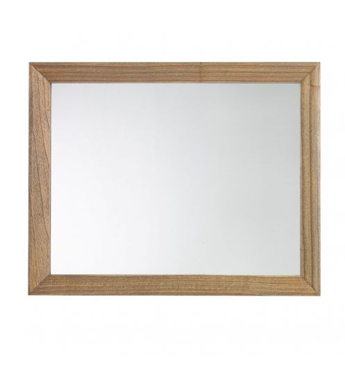 Miroir marron chambre miroir en bois salle manger for Grand miroir large