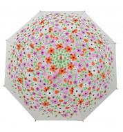 Parapluie à fleurs colorées Derrière la porte